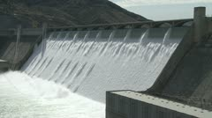 Grand Coulee Hydroelectric Dam 02 Stock Footage