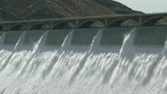 Stock Video Footage of Grand Coulee Hydroelectric Dam cu 02