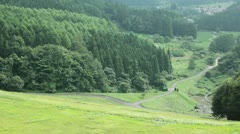 Rural Landscape of Japan Stock Footage