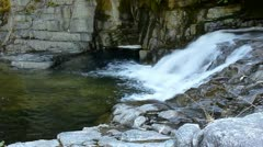 Cascading Eagle River Falls Stock Footage
