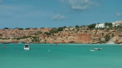 Bay of Port Adriano, Mallorca Stock Footage