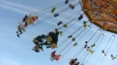 Chairplane Stock Footage