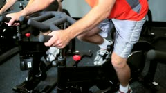 Lower Body Members in Gym Stock Footage
