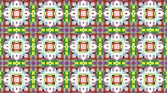 Kaleidoscope Background Footage ver2 soft square Stock Footage