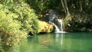 Stock Video Footage of Natural pool in Topes de Collantes, Cuba