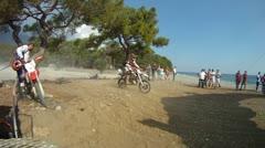 motocross race 03 - stock footage