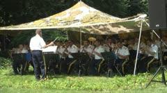 Regiment Military Band 30 Mihai Viteazu Guard Stock Footage