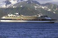 Cruise ship tourism Celebrity Millennium Alaska Stock Photos