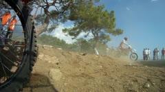 motocross race 01 - stock footage