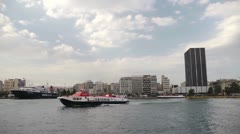 Piraeus Harbor 3 - stock footage