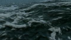Ocean storm close in Full HD - stock footage