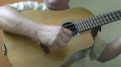 Cuban band playing music havana cuba Stock Footage