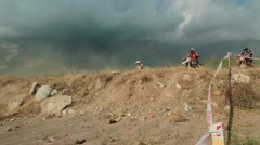 motocross race 32 - stock footage
