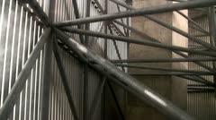 Lift moving upwards Stock Footage