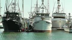 San Diego Port 02 Stock Footage