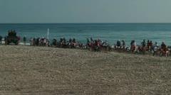 motocross race 40 - stock footage