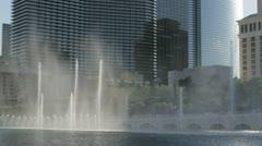 LAS VEGAS - APRIL 17, 2012: Footage of the famous $40 million Bellagio Hoel Stock Footage