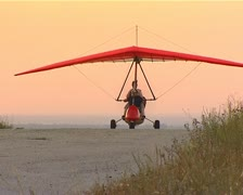 Hang-glider Stock Footage