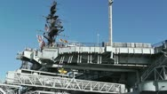 Stock Video Footage of San Diego US Naval Base USS Midway Carrier 07