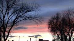 Timelape Sunset Stock Footage