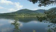 Yenisei River Landscape 03 Stock Footage