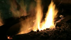fire in the forge 1 - stock footage