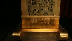 Egyption Artifacts 1 Stock Footage