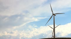 Windmill closeup Stock Footage