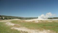 Old Faithful Geyser at Yellowstone 6 (2) Stock Footage
