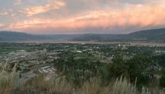 Scenic Kelowna Dilworth Sunrise Timelapse01 Stock Footage
