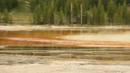 Steam from Grand Prismatic 10 Stock Footage