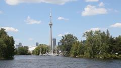 Toronto Islands 2 Stock Footage