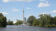 Toronto Islands 2 Stock Footage