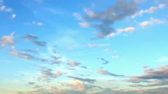 Running clouds Stock Footage