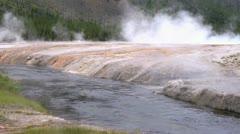 Steaming Geysers Stock Footage