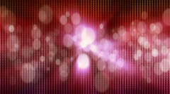 Disco style background Stock Footage