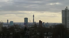 London telecom tower Stock Footage