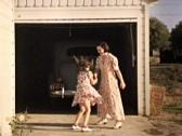 Sweet Mother Daughter Fun Happy Family - Vintage 16mm Film Stock Footage