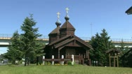 Russian Orthodox Catholic Church Stock Footage