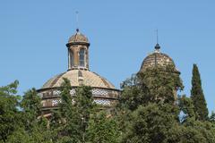 Stock Photo of Barcelona parc de la Ciutadella building