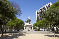Barcelona Spain Bartomeu Robert memorial park - stock photo