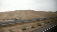 Desert, Driving - Southamerica, Panamericana Stock Footage