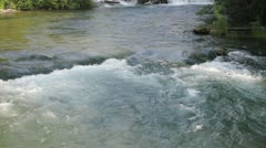 Small river in the Forest, Niagara Falls Stock Footage