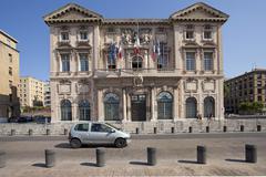 Marseille Hotel de Ville 0209.jpg Stock Photos