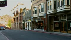 Old West Town Street Stock Footage