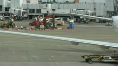 Airport maintenance Stock Footage