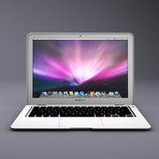 3d model of macbook air