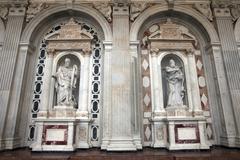 Messina Duomo Basilica Apostle Simon Thaddaeus 0805.jpg - stock photo