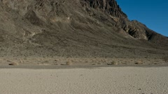 Pan of Death Valley California - The Race Tracj Stock Footage