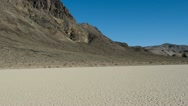 Stock Video Footage of Pan of Death Valley California - The Race Tracj